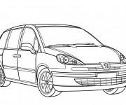 Coloriage et dessins gratuit Peugeot 3008 à imprimer