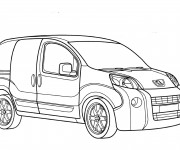 Coloriage Peugeot Partner