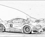 Coloriage Porsche