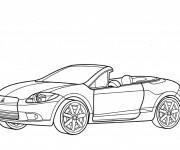 Coloriage et dessins gratuit Porsche 911 turbo à imprimer
