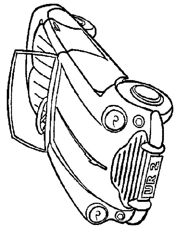 Coloriage et dessins gratuits Porsche décapotable à colorier à imprimer
