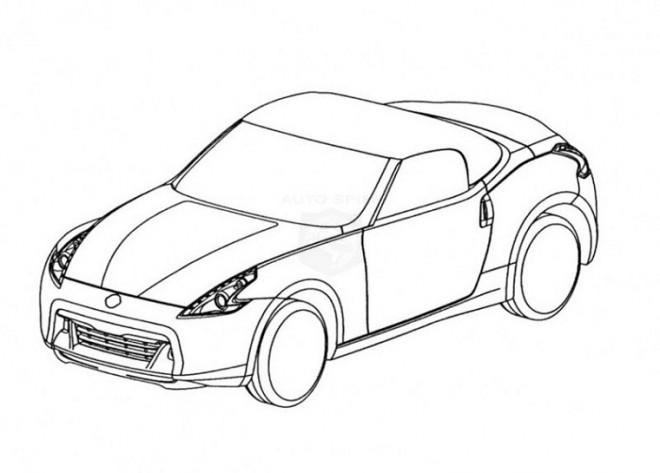 Coloriage et dessins gratuits Porsche vue de l'extérieur à imprimer