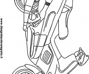 Coloriage Scooter 16