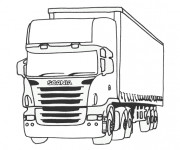 Coloriage Camion 49