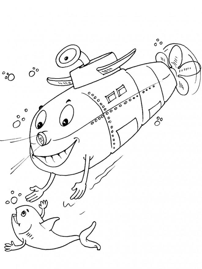 Coloriage sous marin 35 dessin gratuit imprimer - Coloriage sous marin ...