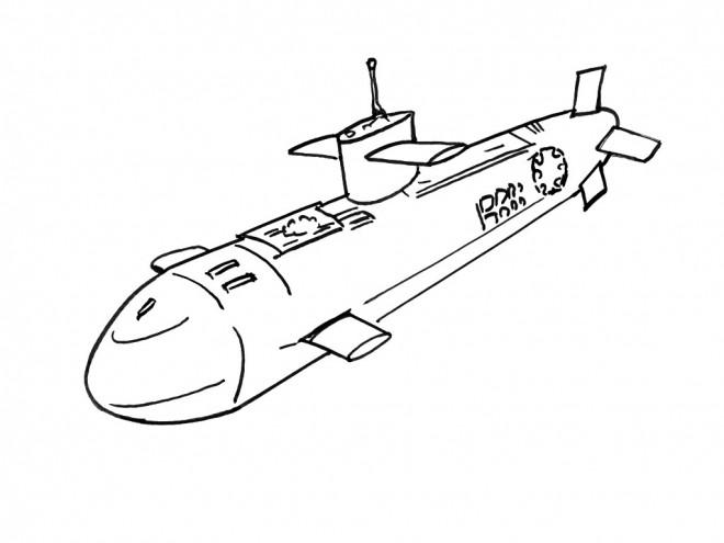 Coloriage sous marin militaire dessin gratuit imprimer - Dessin plongeur ...