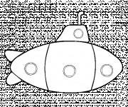 Coloriage Sous Marin vectoriel