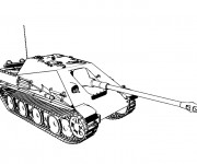 Coloriage Tank