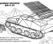 Coloriage Tank 9