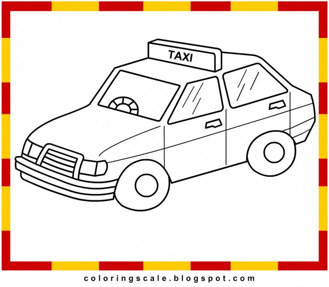 Coloriage et dessins gratuits Taxi 4 à imprimer