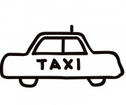 Coloriage Taxi 5