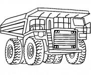 Coloriage Camion Tonka en ligne