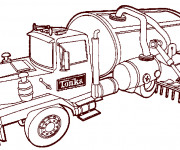 Coloriage tracteur Massey