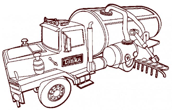 Coloriage et dessins gratuits tracteur Massey à imprimer