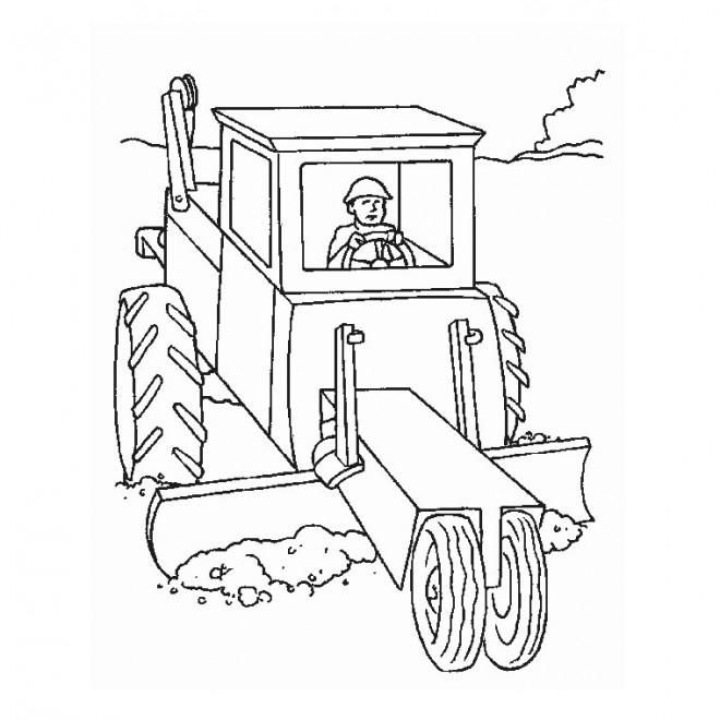 Coloriage et dessins gratuits Équipement Agricole à imprimer