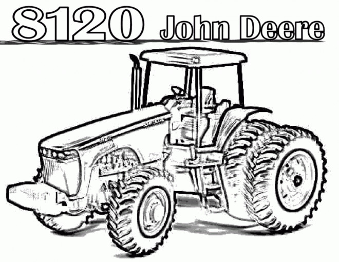 john deere christmas coloring pages - photo#18
