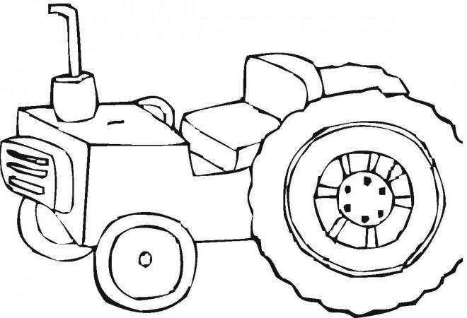 Coloriage et dessins gratuits Tracteur Claas à imprimer