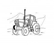 Coloriage Tracteur Gratuit A Imprimer Liste 40 A 60