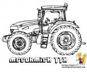 Coloriage Tracteur Maccormick