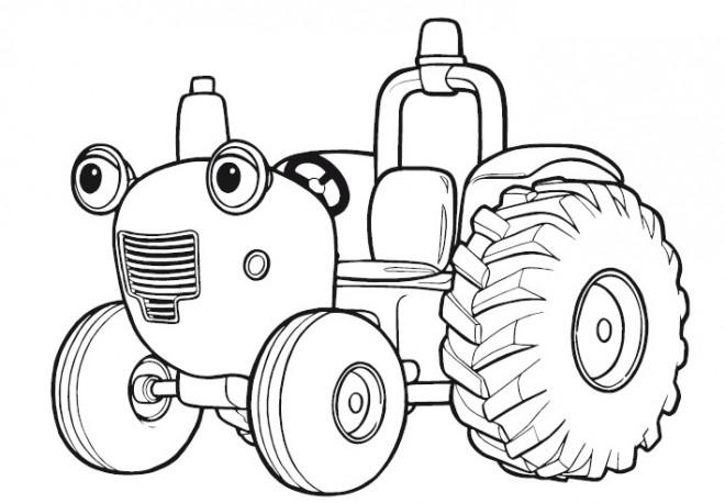 Coloriage tracteur tom dessin gratuit imprimer - Jeu de tracteur agricole gratuit ...