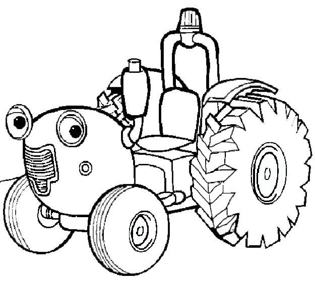 Coloriage Tracteur Tom Dessin Anime Dessin Gratuit A Imprimer