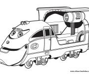 Coloriage Jouet Train magique