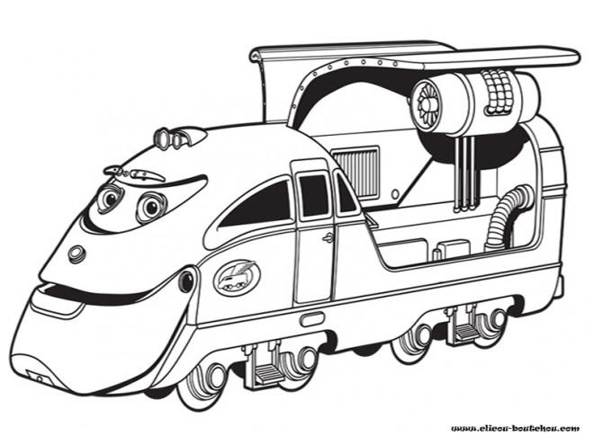 Coloriage et dessins gratuits Jouet Train magique à imprimer