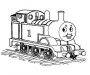 Coloriage Le Train Thomas Disney