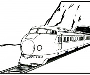 Coloriage Locomotive 32
