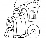 Coloriage Locomotive 45