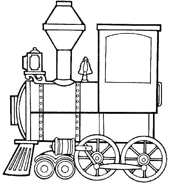 Coloriage et dessins gratuits Locomotive qui tracte les Wagons à imprimer