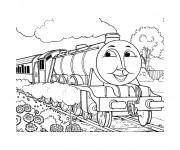 Coloriage Thomas le petit train