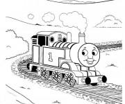 Coloriage Train 11