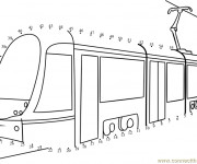 Coloriage Tramway 16