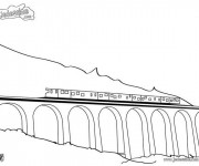 Coloriage Tramway 18