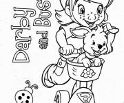 Coloriage Darby et Buster sur La  Trottinette