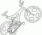 Coloriage Bicyclette de course