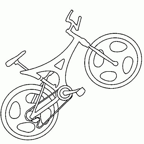 Coloriage et dessins gratuits Bicyclette de course à imprimer