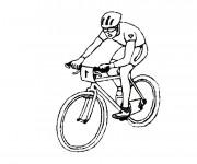 Coloriage et dessins gratuit Sport de Cyclisme à imprimer
