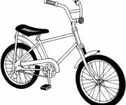 Coloriage Un petit Vélo en ligne