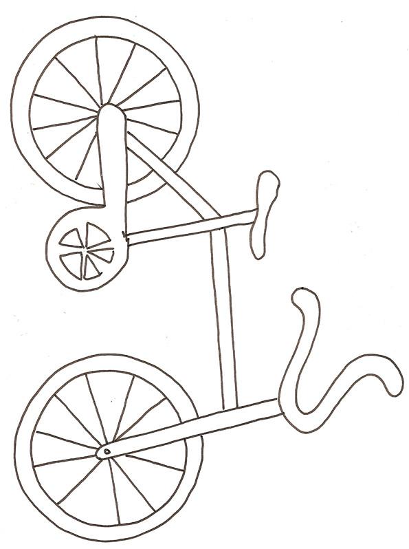 Coloriage et dessins gratuits Velo 28 à imprimer