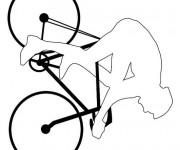 Coloriage Vélo à compléter