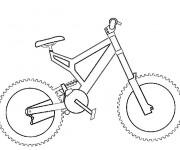 Coloriage Vélo BMC facile
