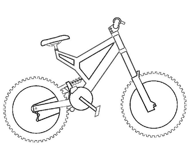 Coloriage et dessins gratuits Vélo BMC facile à imprimer