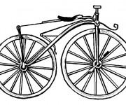 Coloriage et dessins gratuit Vélo Classique à imprimer