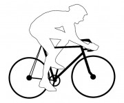 Coloriage Vélo de ville