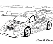 Coloriage Auto de course 49