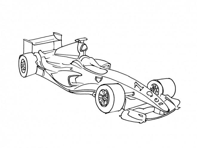 auto de course de formula 1