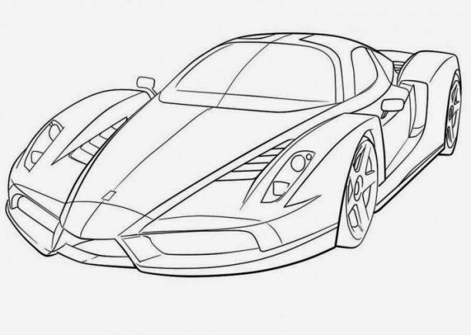Coloriage voiture de course de luxe dessin gratuit imprimer - Dessin de voiture de luxe ...