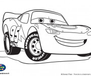 Coloriage Auto Flash Mcqueen